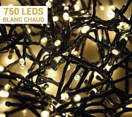 Guirlande électrique SNAKE 750 LEDs - Blanc Chaud