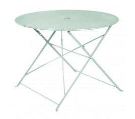 Table de jardin pliante BELLAGIO - Vert menthe