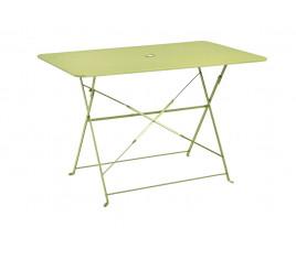 Table de jardin pliante VENISE - Vert pomme
