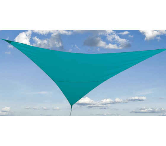 Voile d'ombrage FLY 360 - Bleu canard