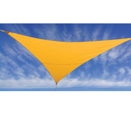 Voile d'ombrage FLY 500 - Jaune moutarde