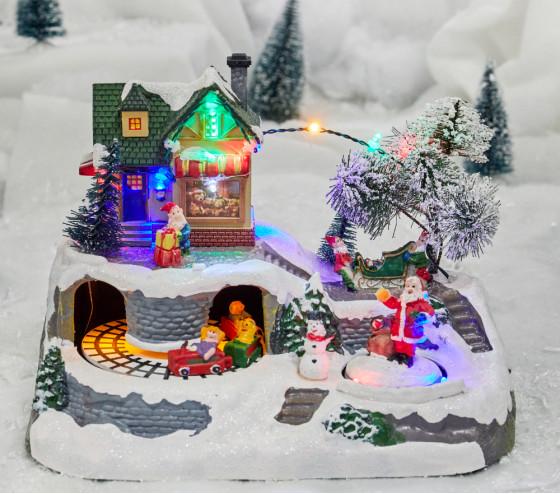 Village lumineux - Atelier du Père Noël