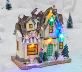 Village lumineux - Boulangerie